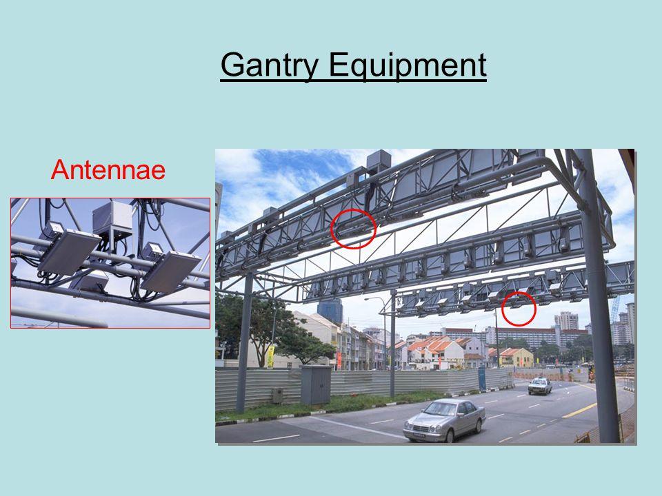 Gantry Equipment Antennae