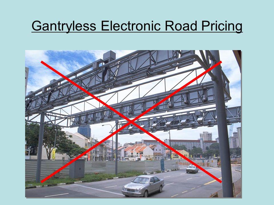 Gantryless Electronic Road Pricing