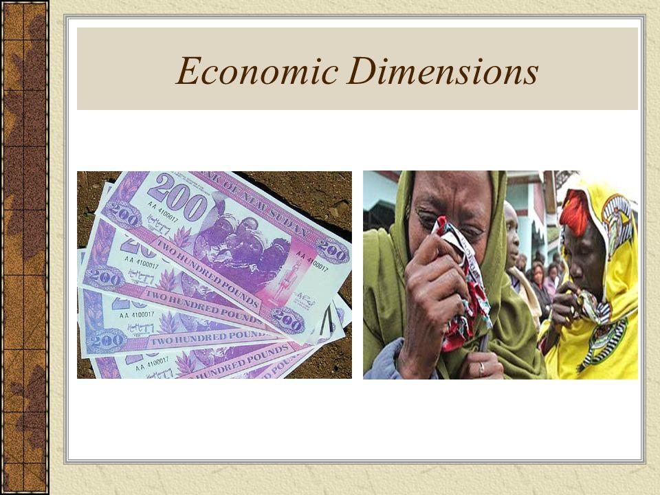 Economic Dimensions