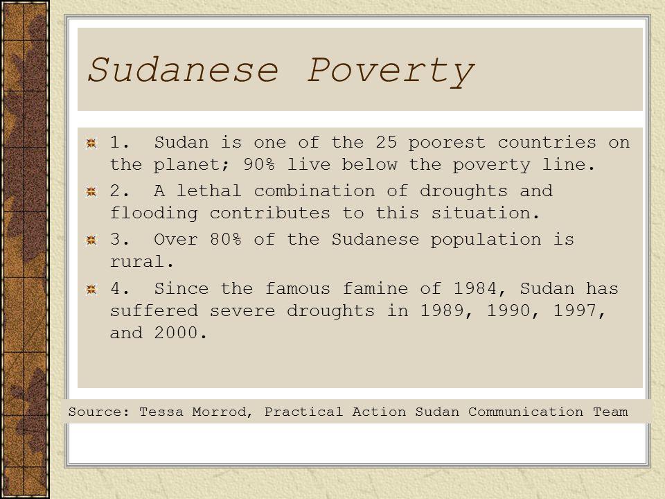 Sudanese Poverty 1.