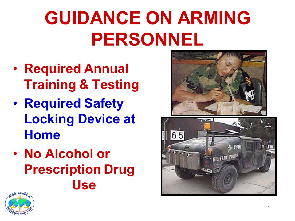 6 GUIDANCE ON USE OF FORCE Carry Out Duties Without Force If Possible Only Use Minimum Force Necessary Consider Force Options – verbal persuasion – unarmed defense techniques – chemical aerosol irritant – military police club