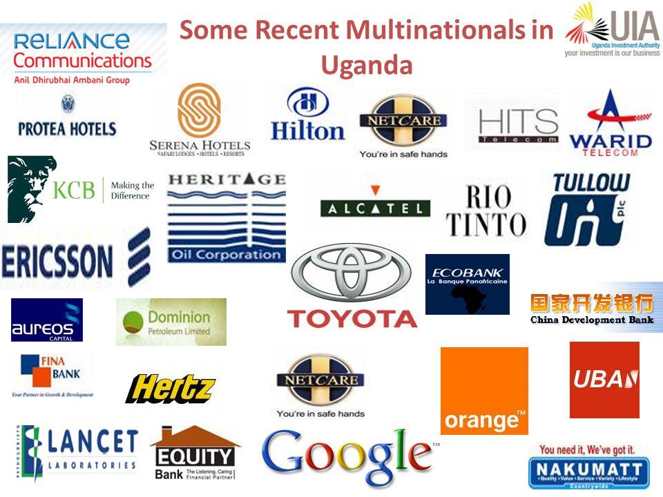 12 Some Recent Multinationals in Uganda