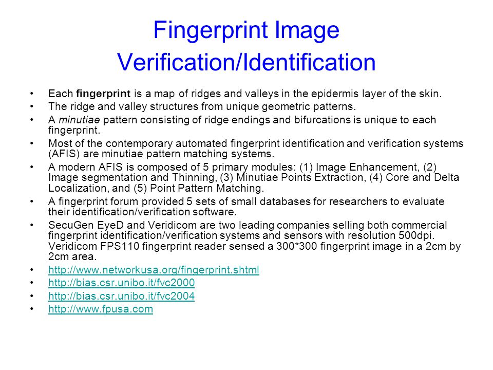 FINGERPRINTS.DEMON.NL