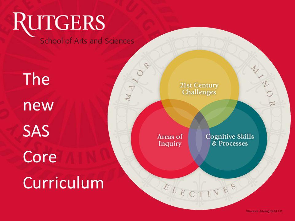 The new SAS Core Curriculum