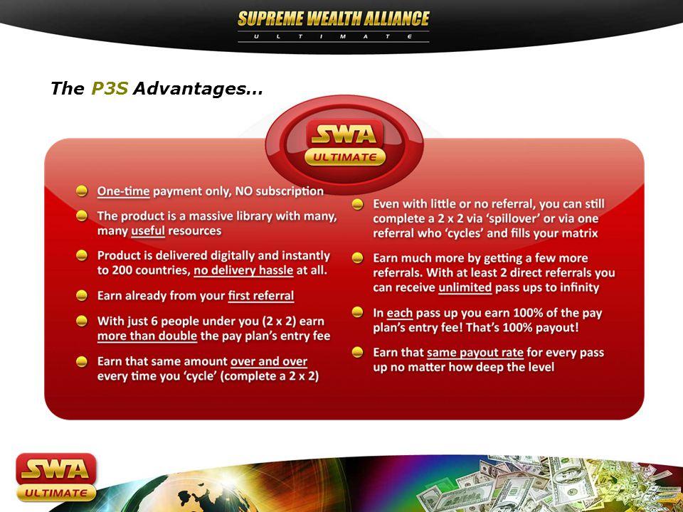 The P3S Advantages…
