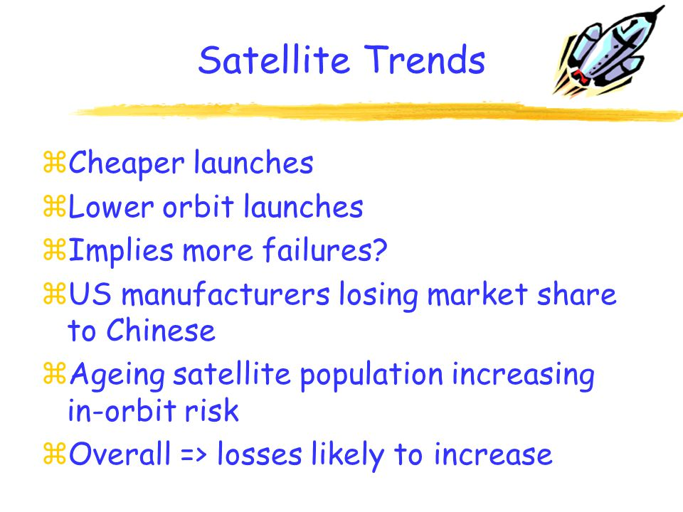 War Trends zMiddle East? zAir rage and pilot suicide zHijackings zOverall => losses not set to improve