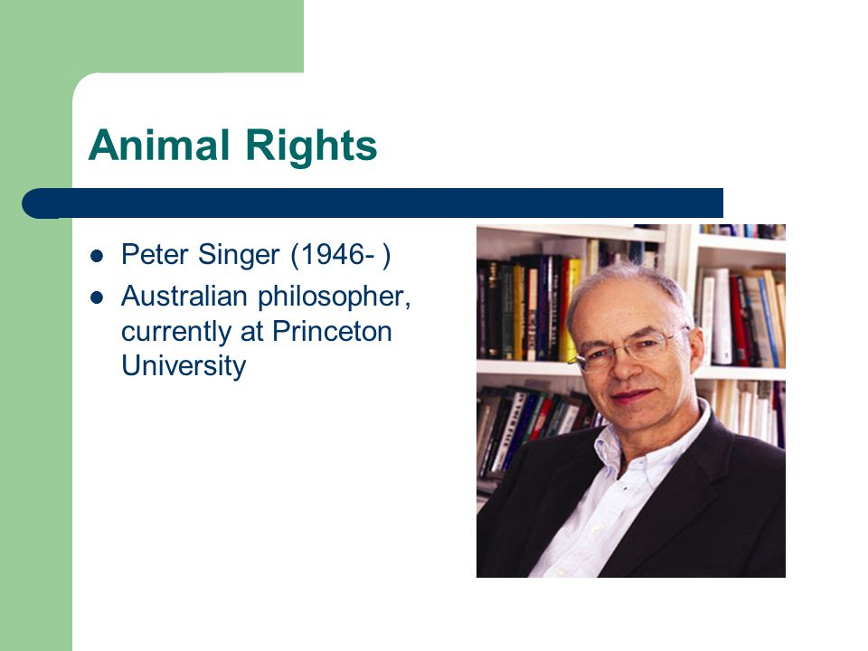Animal Rights Arguments made to extend rights to other human groups historically excluded from liberal rights dialogue have all initially appeared outrageous For example: women's rights, black rights