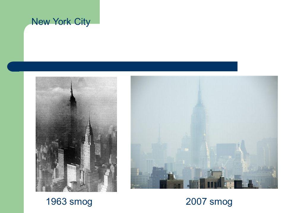 New York City 1963 smog2007 smog