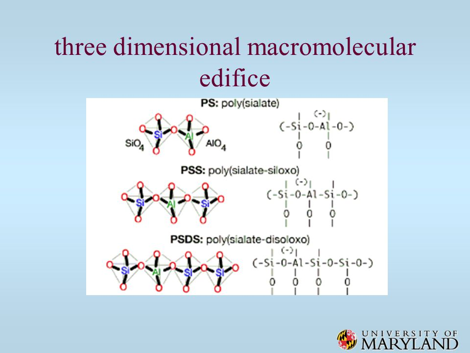 three dimensional macromolecular edifice