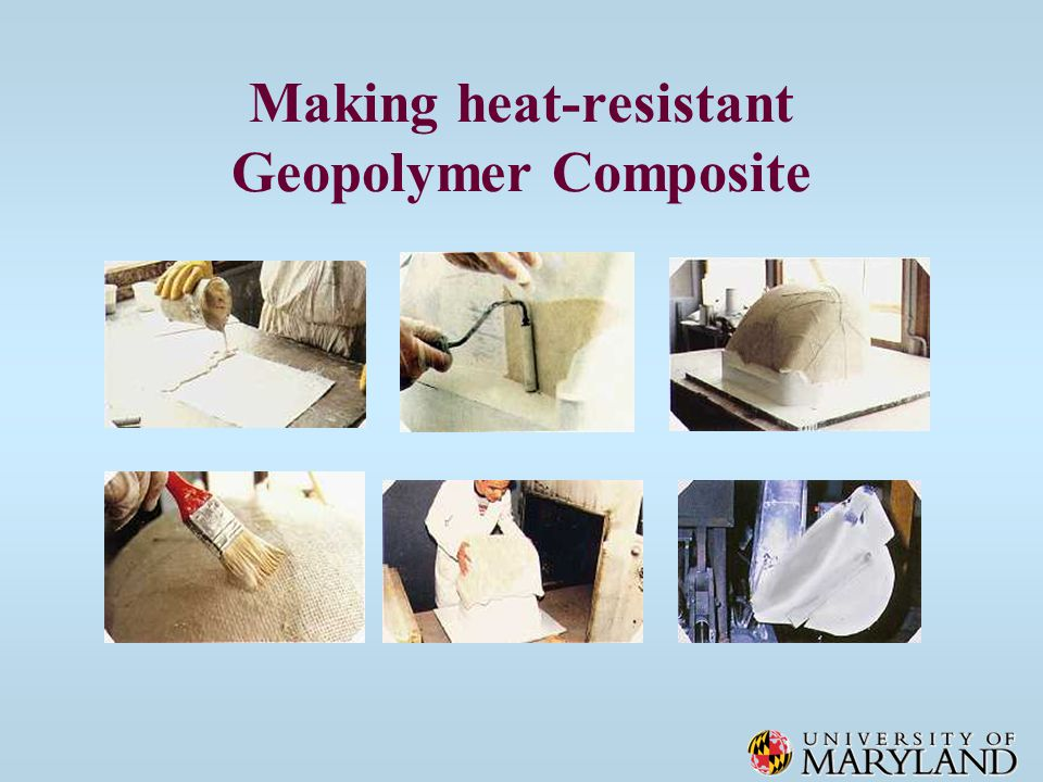 Making heat-resistant Geopolymer Composite