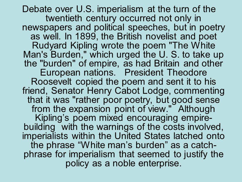 Debate over U.S.