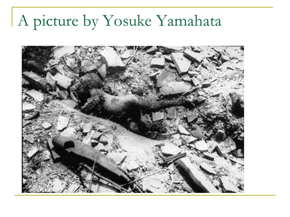 A picture by Yosuke Yamahata