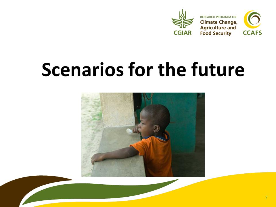 7 Scenarios for the future