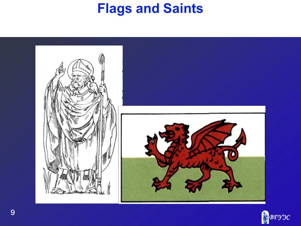9 Flags and Saints