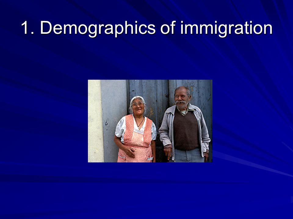 Country of origin of immigrants, all ages, 2006 United States California Source: U.S.