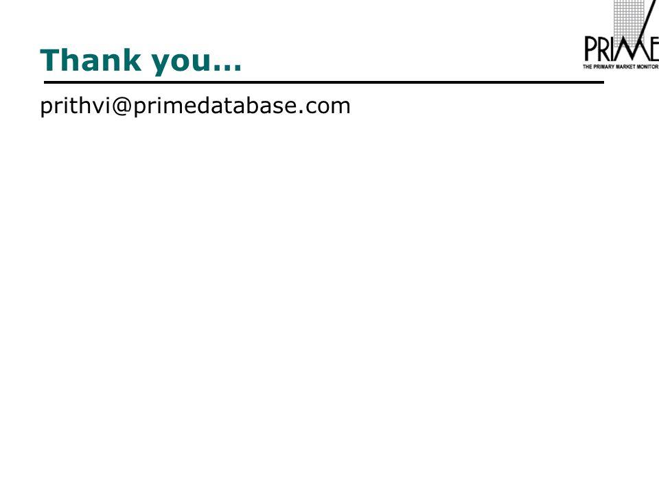 Thank you… prithvi@primedatabase.com