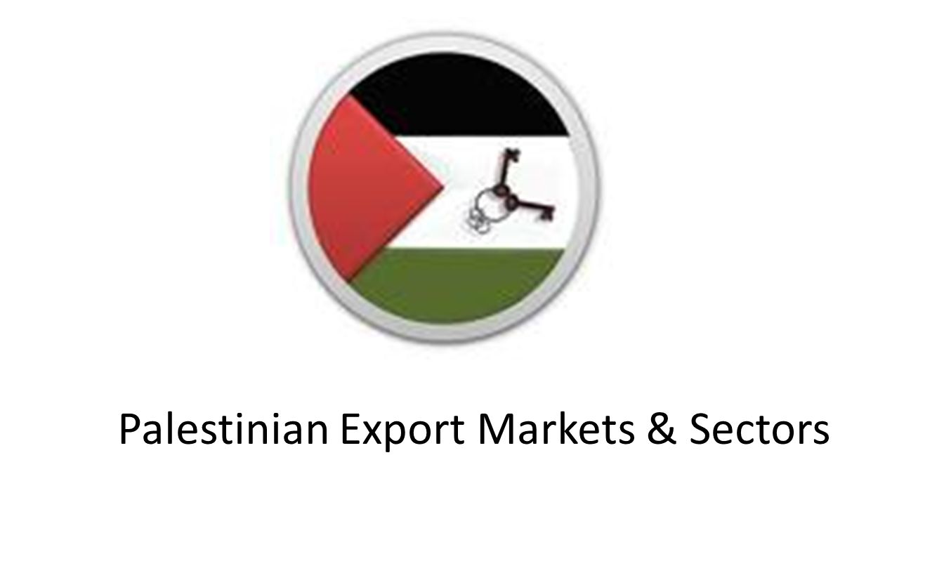 Destinations of Palestinian Exports 1.Israel (90%) Most of Palestinian exports to Israel are re-exported to 3 rd countries;mainly Europe and USA 2.Arab Countries: Jordan, Saudi Arabia, Yemen, Oman, Bahrain.