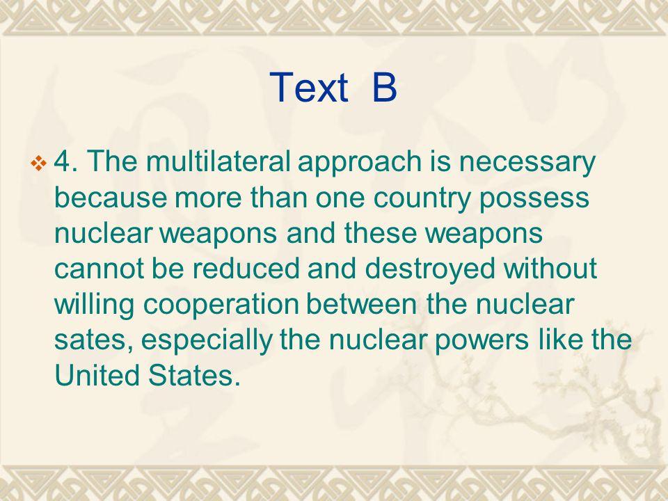 Text B  4.