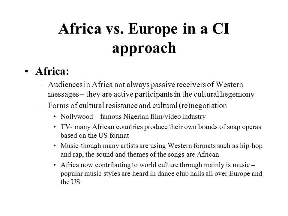 Africa vs.