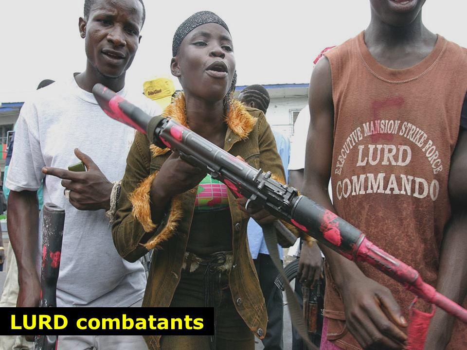 LURD combatants