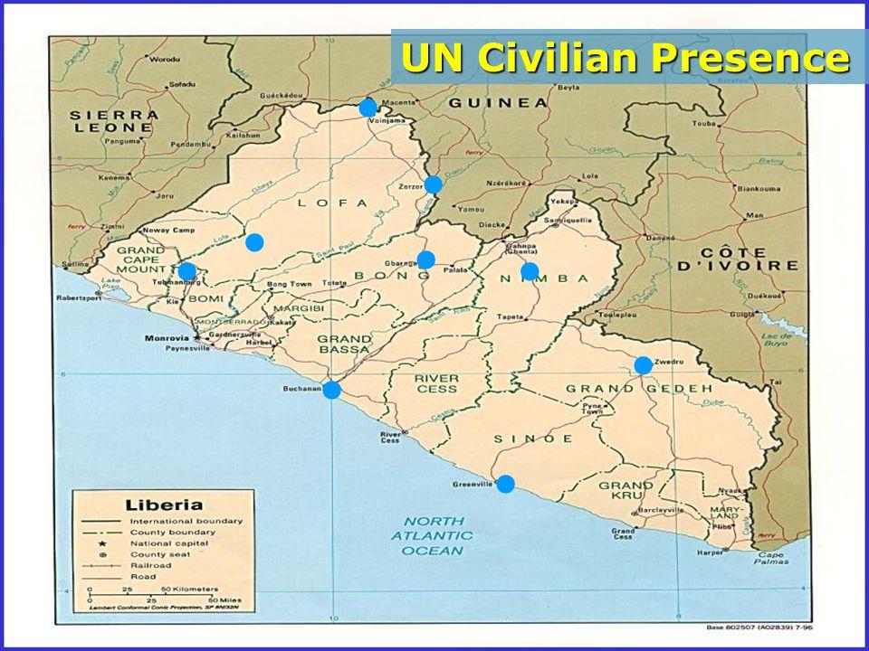 ......... UN Civilian Presence