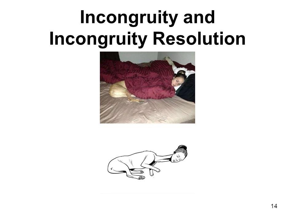 Incongruity and Incongruity Resolution 14
