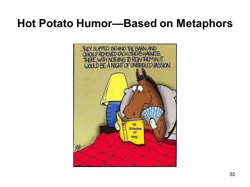 Hot Potato Humor—Based on Metaphors 30