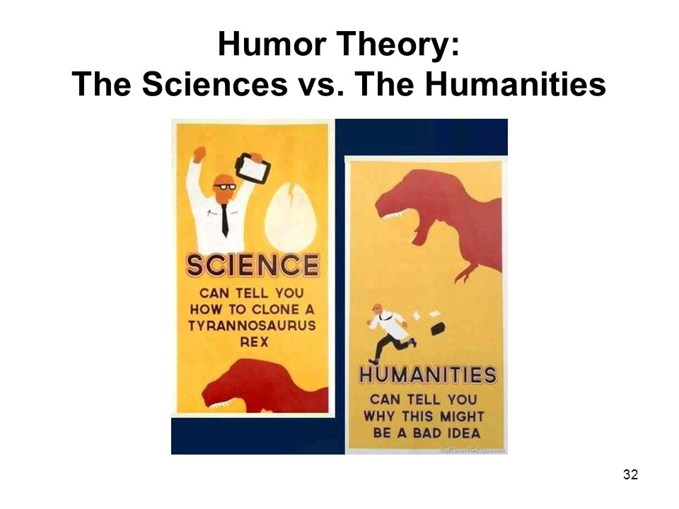 Humor Theory: The Sciences vs. The Humanities 32