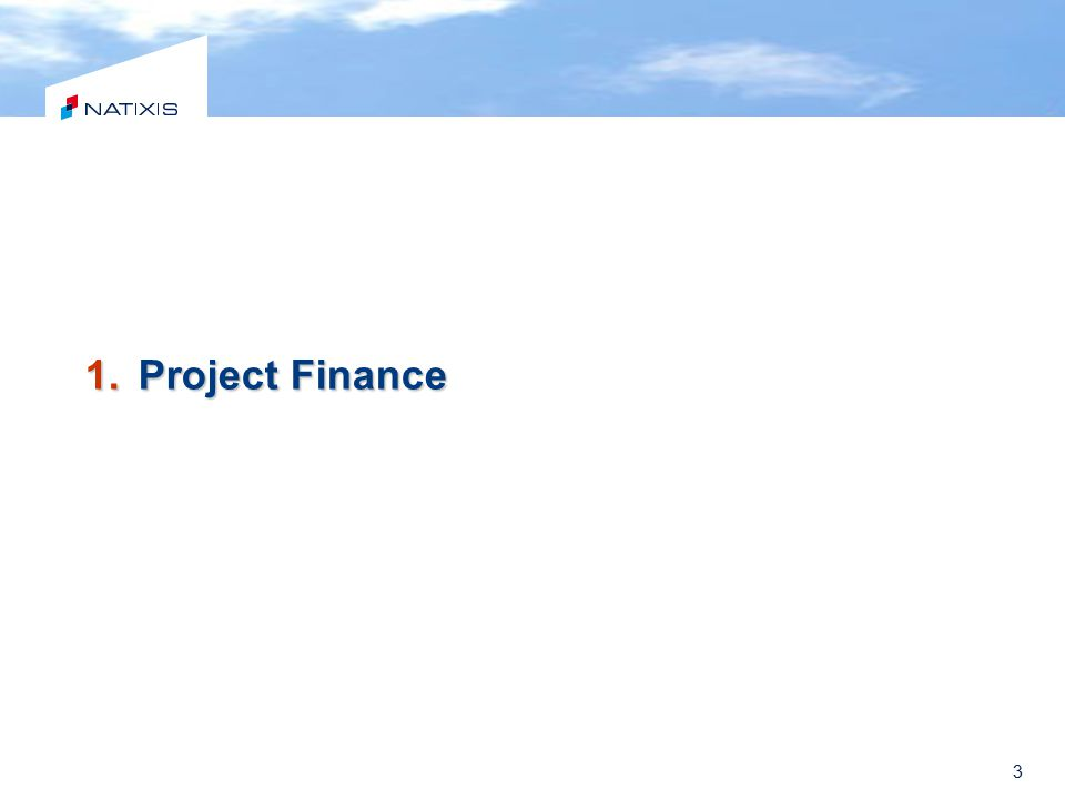 3 1.Project Finance