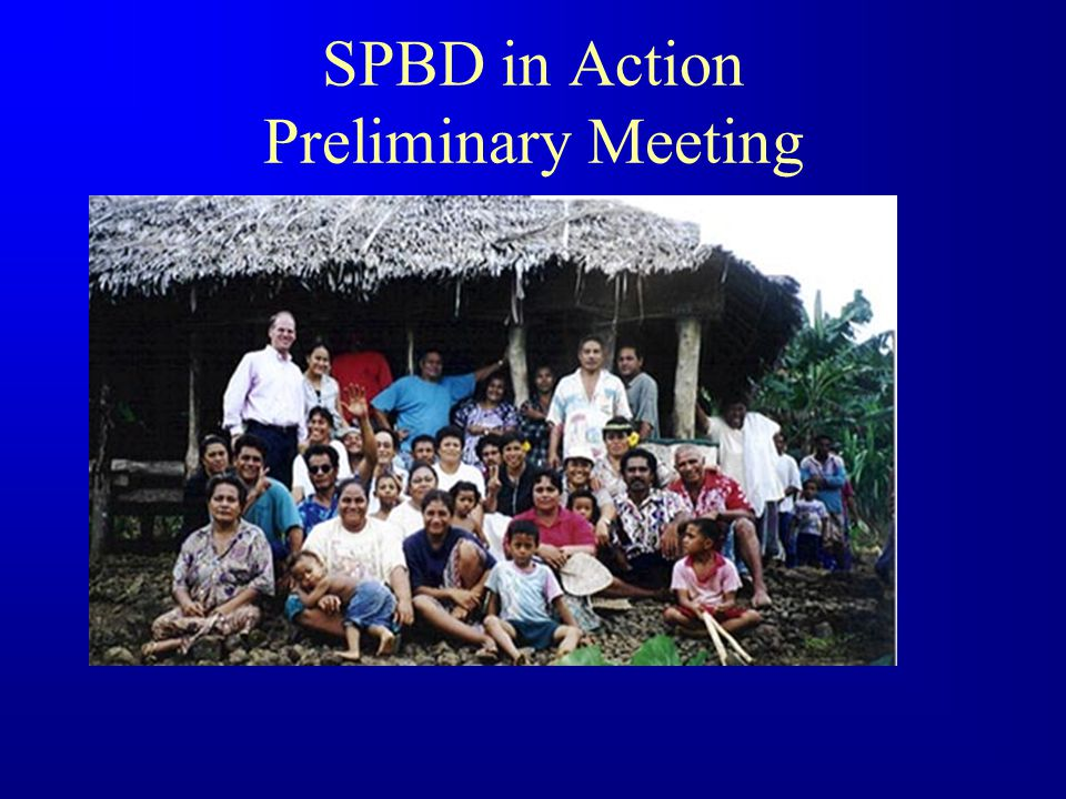SPBD Business Practices F Very structured program with clear rules F Helps counter: 1.