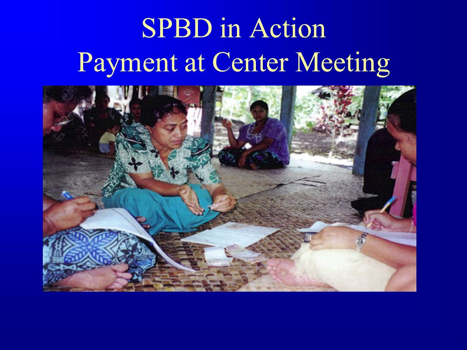 SPBD in Action Preliminary Meeting