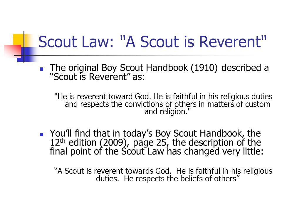 Scout Law: