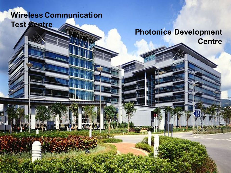 成就 Wireless Communication Test Centre Photonics Development Centre