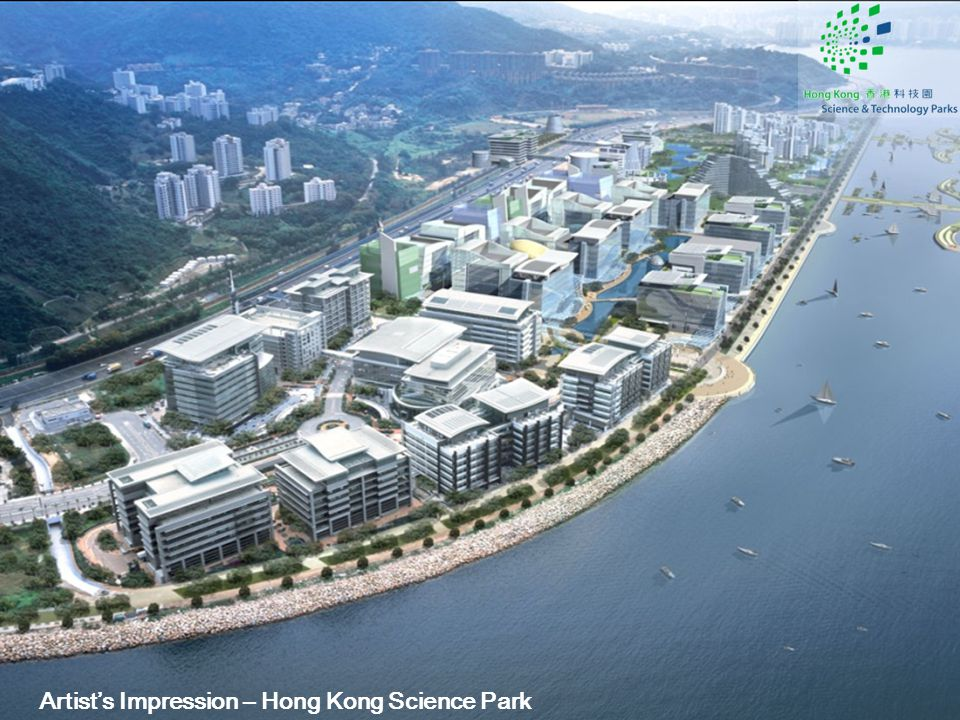 Artist's Impression – Hong Kong Science Park