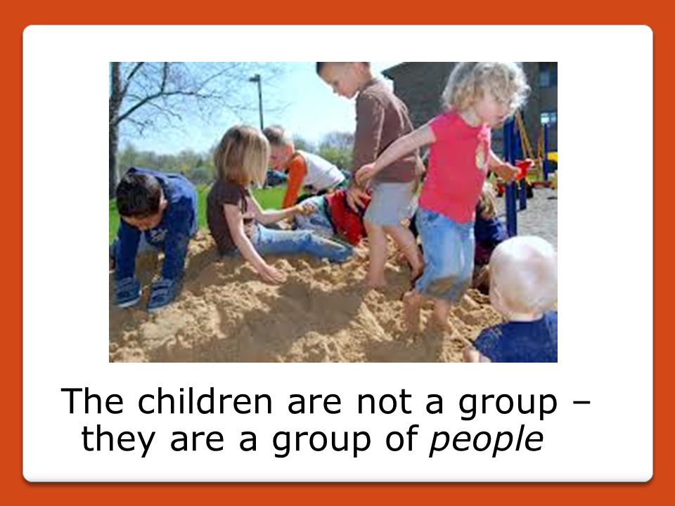 A community of learners: Reggio So important are relationships to the thinking and work in Reggio that they do not talk of being 'child-centred', with its implication of the child as an autonomous, isolated and decontextualized being.