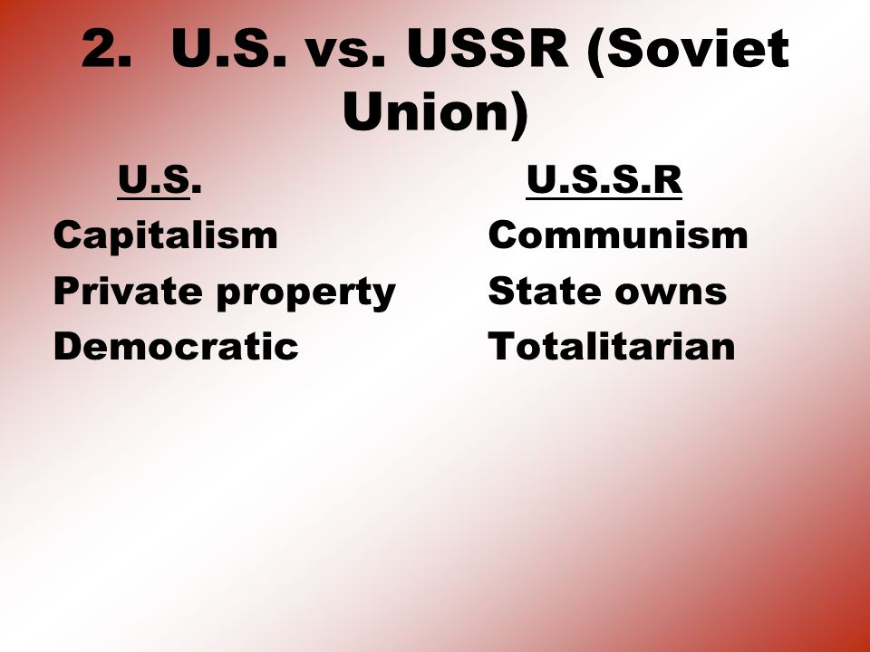 3.FIGHTING COMMUNISM CONTAINMENT POLICY: The U.S.