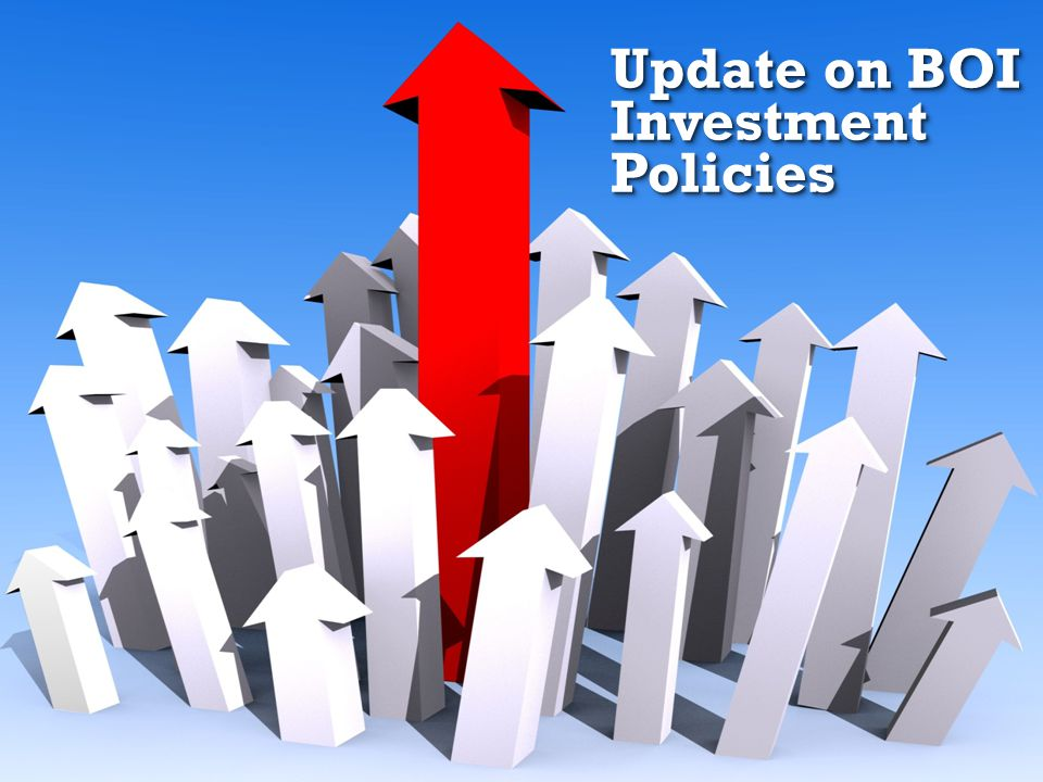 35 Update on BOI Investment Policies