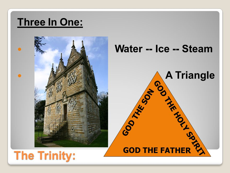 The Trinity: What the Bible Says The Apostles Taught The Trinity: (2 Cor 13:14 NIV) May the grace of the Lord Jesus Christ, and the love of God, and the fellowship of the Holy Spirit be with you all.