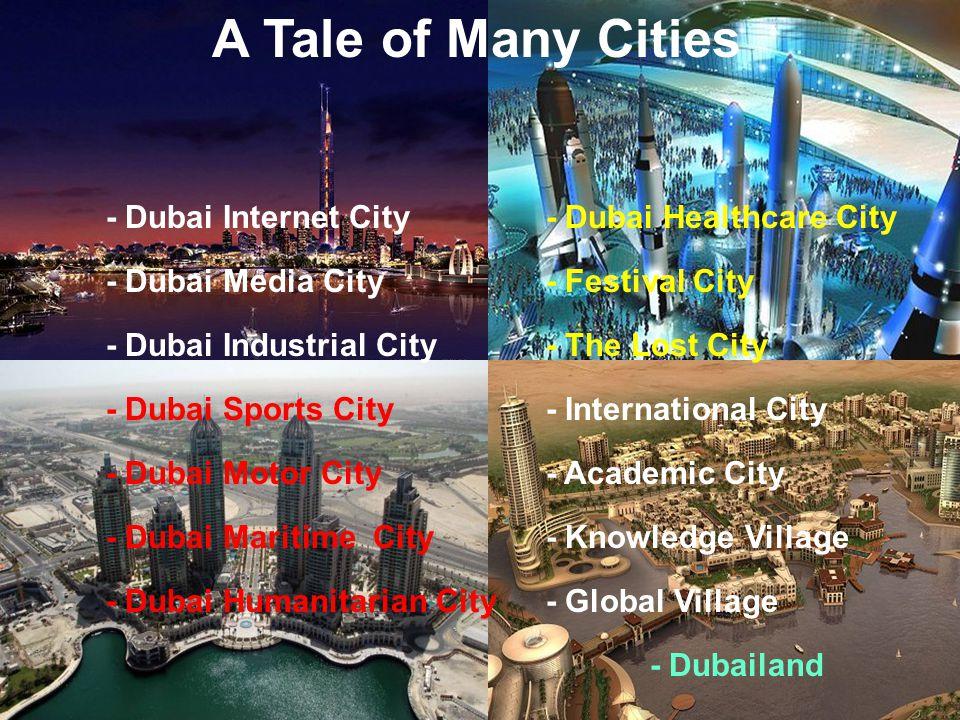 www. thecommonwealth.org A Tale of Many Cities - Dubai Internet City - Dubai Media City - Dubai Industrial City - Dubai Sports City - Dubai Motor City