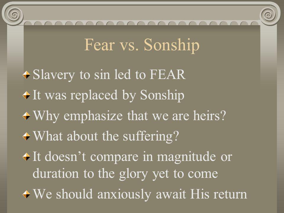 Fear vs.