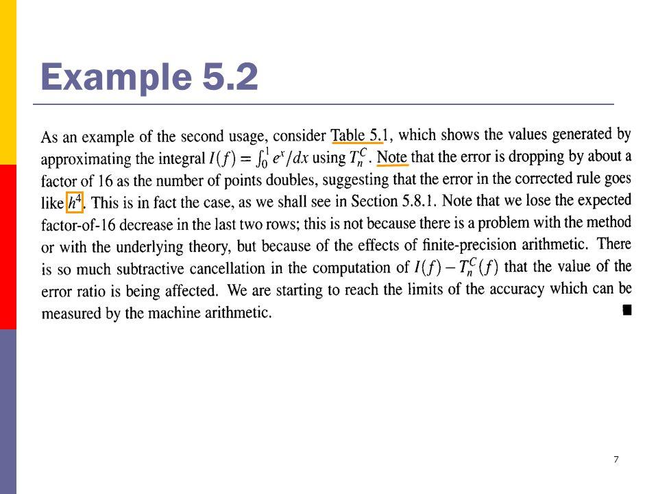 7 Example 5.2