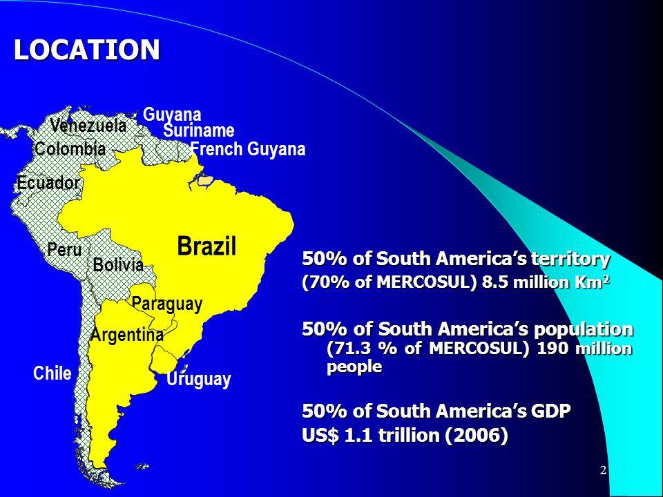 3 World Largest Economies GDP (real exchange rates) - US$ Billion 1.