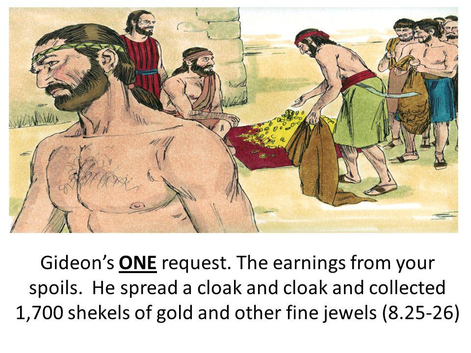 GIDEON'S EHPOD
