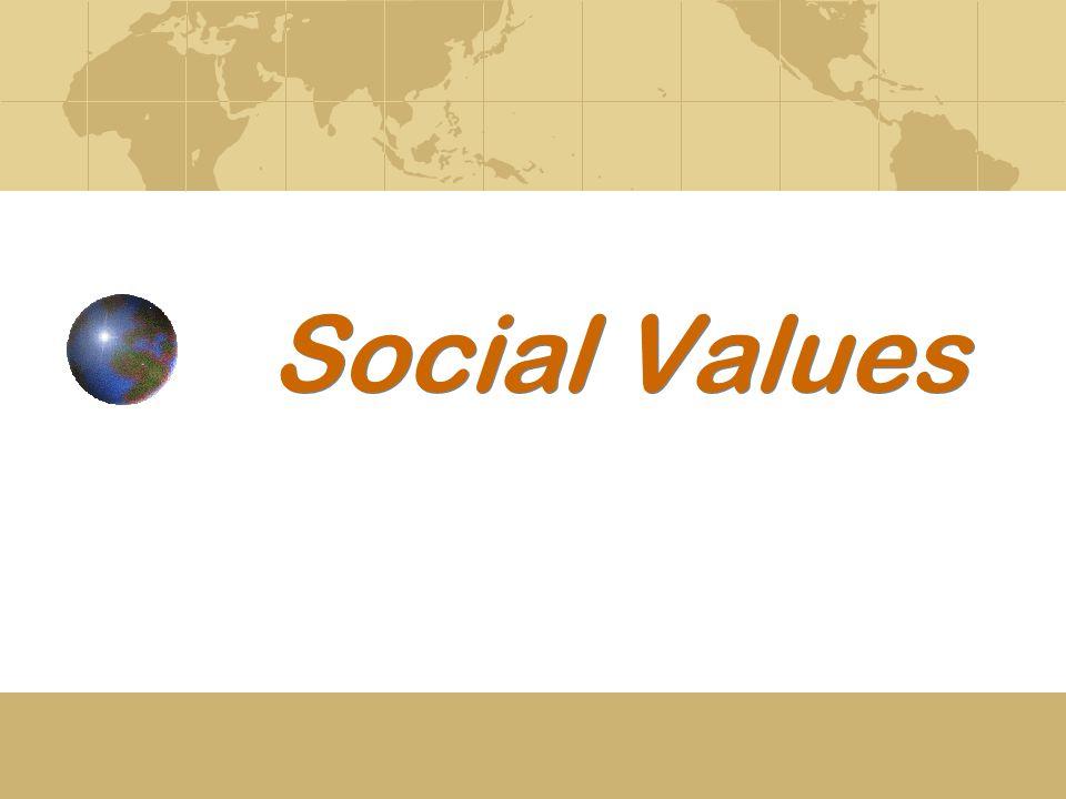 Social Values