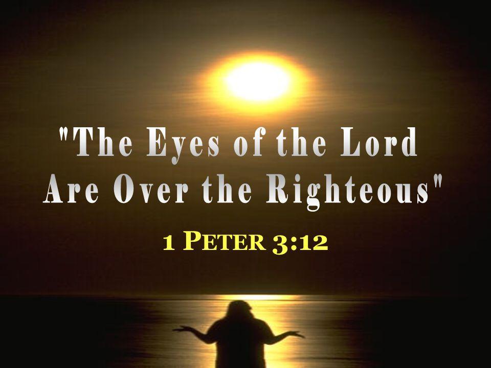 1 P ETER 3:12