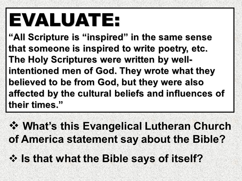 Whom did God inspire to write the books of the Old Testament.