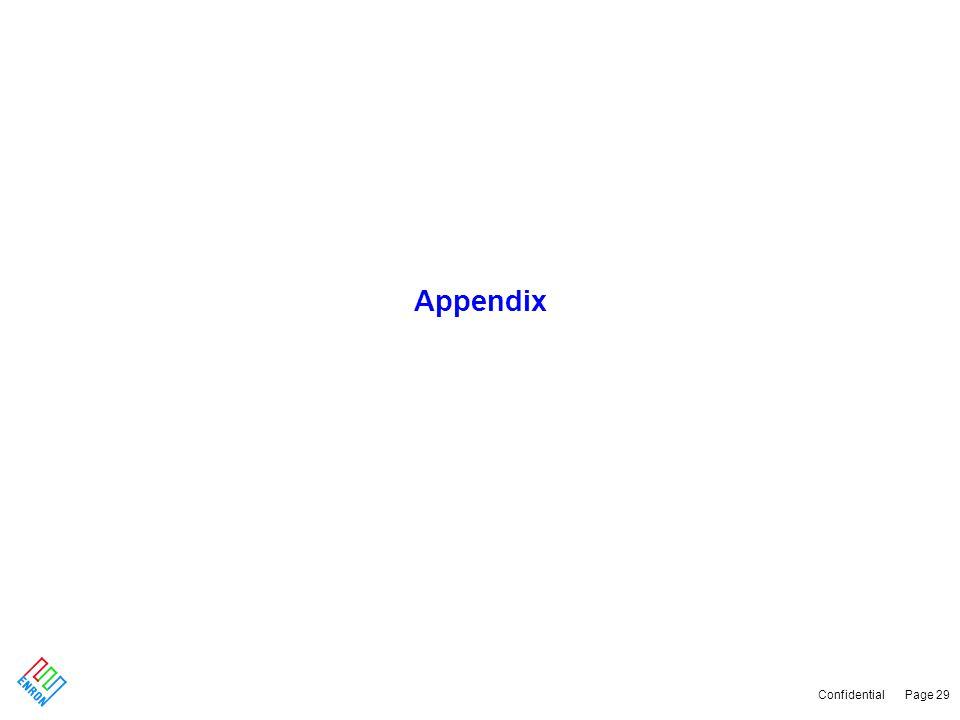 Confidential Page 29 Appendix