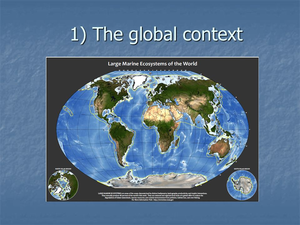 1) The global context