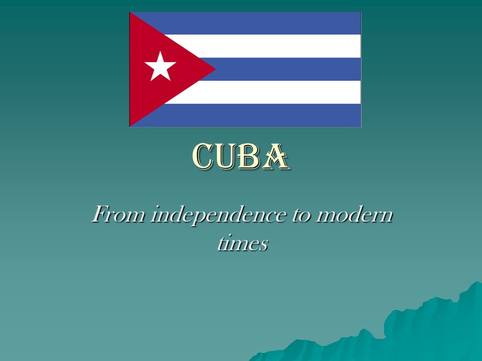 Cuba: Relative Location