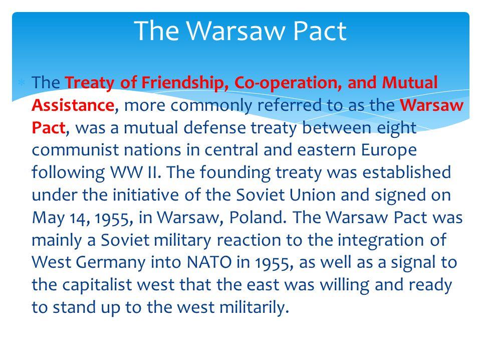 The Soviet Response  Nations under enforced communist rule (the Soviet Iron Curtain) included: Poland, Czechoslovakia, Rumania, Hungary, East Germany, Bulgaria, Soviet Union,& Albania.
